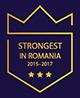 strongest in romania